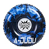 A-DUDU Snow Tube - Super Big 47 Inch Inflatable Snow Sled for Kids and Adults - Heavy Duty Inflatable Snow...