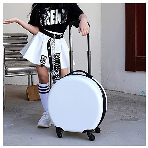 QIXIAOCYB Bambino bagagli caso e zaino leggero espandibile espandibile durevole tenuta bagaglio valigia trolley casi borsa da viaggio ideale for pause brevi vacanze SOLLEVERS e gite scolastiche Giallo