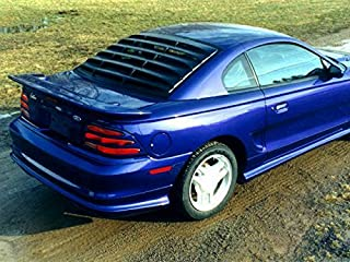 Willpak Industries 1384 ABS Car Louver for Ford/Mercury