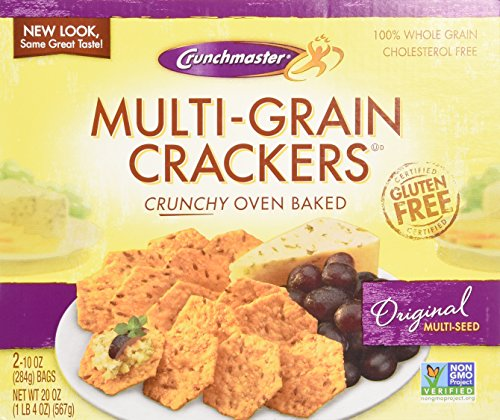Crunchmaster Multi-Grain Crackers, Gluten Free, 20 oz.