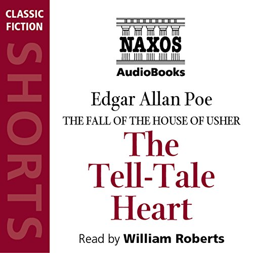 The Tell-Tale Heart audiobook cover art