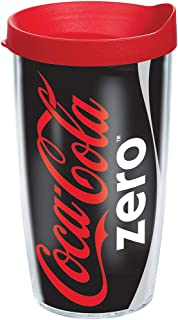 Tervis Coca-Cola - Coke Zero Can Insulated Tumbler with Wrap and Frosted Lid, 16oz, Clear