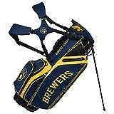 Milwaukee Brewers Caddie Carry Hybrid Golf Bag
