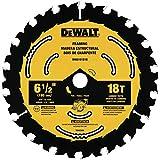 DEWALT DWA161218 6-1/2-Inch 18-Tooth Circular Saw Blade