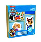 Paw Patrol 25 piece Magnetic Wood Dress Up Puzzle