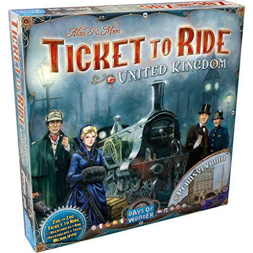 Days of Wonder DOW720123 Board Game & Extension