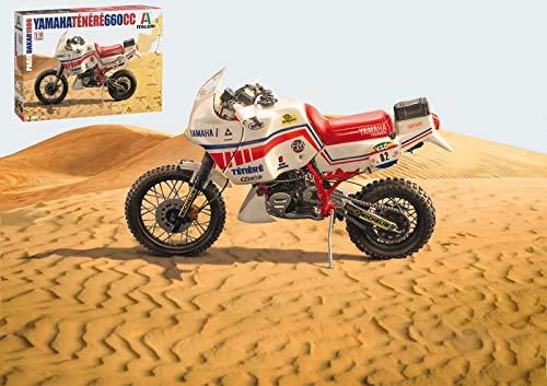 YAMAHA TENERE 660 CC 1986 KIT 1:9 - Italeri - Kit Moto - Kit di Montaggio