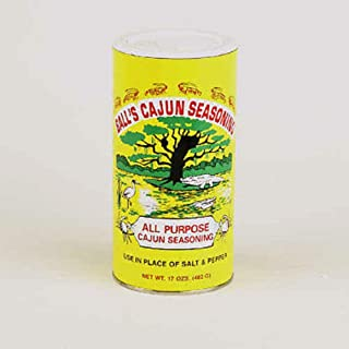 Ball's All Purpose Cajun Seasoning, 17 Ounce Shaker