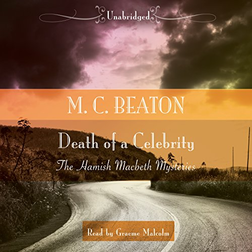 Death of a Celebrity audiobook cover art