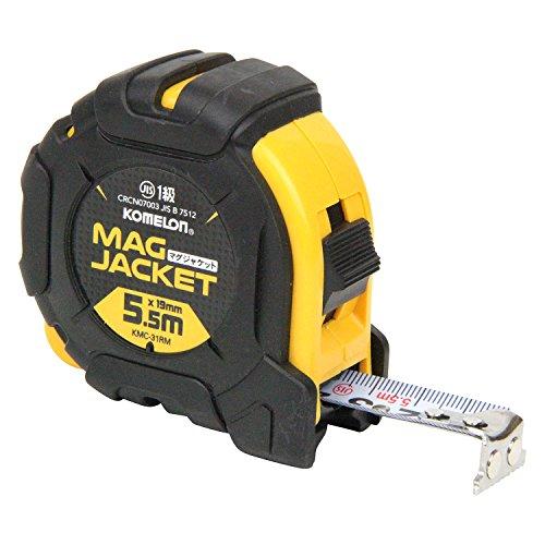 コメロン コンベックス マグジャケット 19 テープ幅19mm 5.5M KMC-31RM