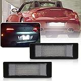 NSLUMO 2 unids coche LED matrícula placa luz tronco lámpara para B/MW E81 E87 E63 E64 E89 Z4 F20 F21
