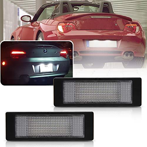 NSLUMO 2 pz auto LED targa luce tronco lampada compatibile con BMW Bimmre E81 E87 E63 E64 E89 Z4 F20 F21