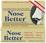 Nose Better Non-Greasy Aromatic Relief Gel, 0.46 Ounce