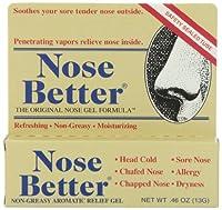 海外直送肘 Nose Better Non-Greasy Aromatic Relief Gel, 0.46 oz