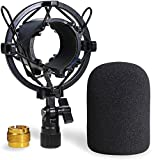 AT2020 Shock Mount with Pop Filter - Foam...
