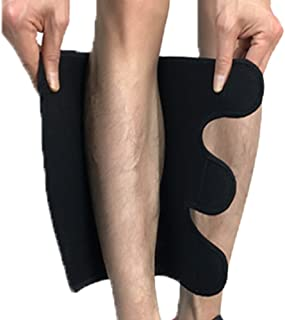 Compression Calf Brace Pads (1 Pair) for Swelling, Edema, Hiking, Training, Calve Sleeves Shin Pads for Men and Women