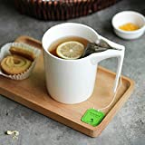 330ml Creative Ceramic Mug with Tea Bag Holder