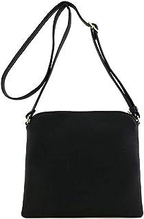 حقيبة يد فاخرة مصممة للسيدات من الجلد بشرابة حقيبة مسنجر لون سادة حقيبة الكتف حقيبة رسول
