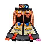 zyl Tablero Minibasket Juego De Tiro Juego,Juego De Baloncesto para Mesa De 2 Jugadores Shootout Aros Baloncesto con Dispositivo De Puntuación para Niños