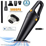 Voroly Power Suction Handheld Car Vacuum Cleaner for Car Dry and Wet DC12V