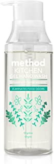 Method Kitchen Gel Hand Soap, Thyme, 12 Ounce (6 Count)