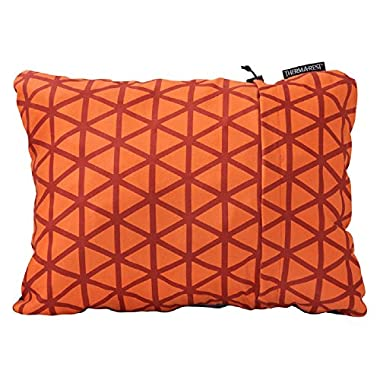 """Therm-A-Rest Compressible Travel Pillow for Camping, Backpacking, Airplanes and Road Trips, Cardinal, Small: 12"""" x 16"""""""