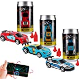 Remote Control Car,Toy Car Mini Coke Can Pocket Racing Cars,3 Pack(2.4GHZ)