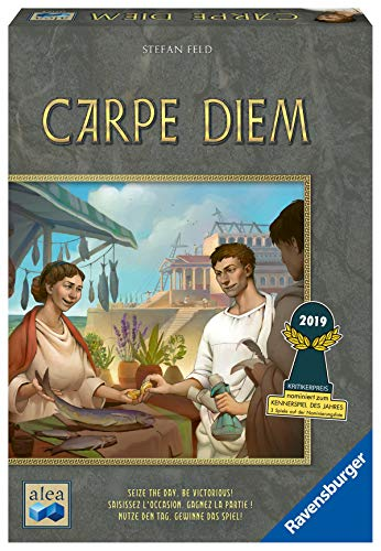 Ravensburger Carpe Diem Strategy Board Game for Age 10 & Up - 2019 Kennerspiel Des Jahres Nominee