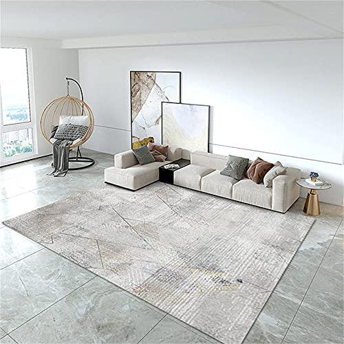 Alfombra Lavable Infantil Hogar Decoracion Salon Alfombra de sala de estar La alfombra deportiva de diseño minimalista moderno es resistente a la suciedad y al desgaste 120X180CM Alfombra Infantil Niñ