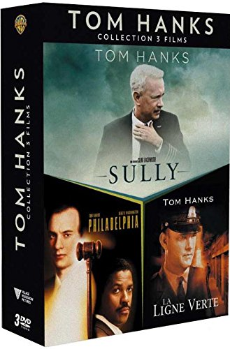 Coffret tom hanks 3 films : sully ; la ligne verte ; philadelphia [FR Import]