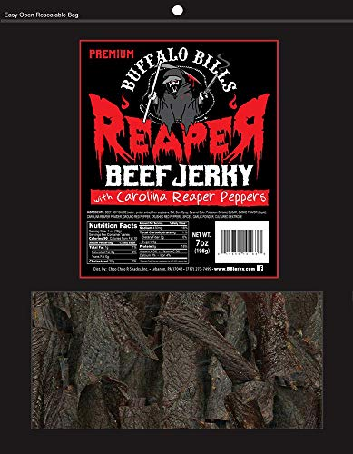 Buffalo Bills Premium Reaper Beef Jerky 7oz Pack