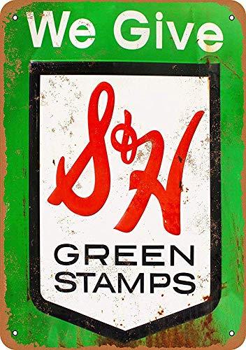 niet We geven groene stempels Metalen tin teken schilderij decoratie Populaire IJzeren Schilderij Poster Voor bar cafe eetkamer huis club