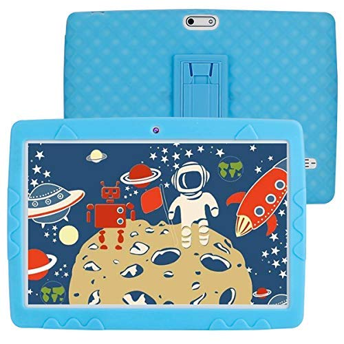 SANNUO 10 inch Kids Tablet,Android 10.0 RAM 3GB ROM 32GB 3G LET Dual SIM Card for Kids Education, Watch Movie and Play Game(Blue)…
