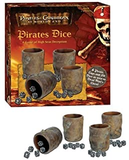 Pirates of the Caribbean Pirates Dice: A Game of High Seas Deception