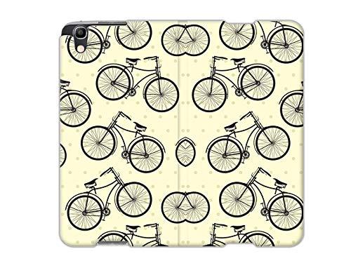 etuo Handyhülle für Alcatel Idol 4 - Hülle, Handy Flip Case - Fahrräder