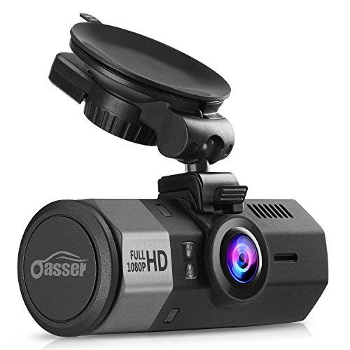 Oasser Cámara de Coche 1080P FHD Dash...