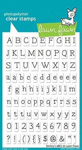 Lawn Fawn Clear Stamps - Smitty's ABCs (LF321)