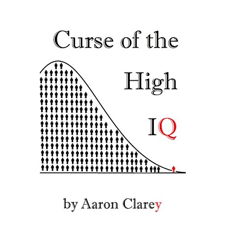 The Curse of the High IQ audiobook cover art