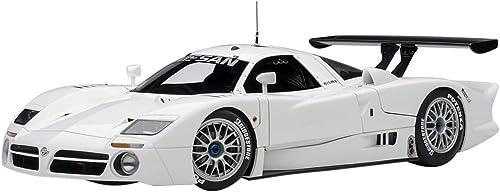 AUTOart Nissan R390 GT1 Le Mans 1998 Weiß Modellauto 1 18
