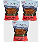 Colorado Naturals Wild Caught Salmon Jerky Dog Treats. Made in USA with 100 Percent 1Lb (3 Pack)