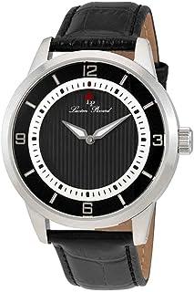 Grotto Black Dial Men's Watch LP-15024-01