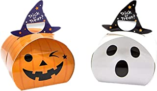 20 Pack Halloween Candy Boxes, Cookie Storage Boxes Pumpkin Treat Boxes Party Favor Gift Boxes