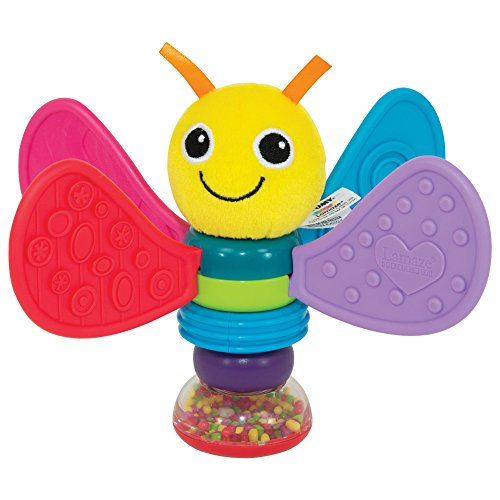 Lamaze Freddie the Firefly Baby Rattle for Newborn Babies, Rattle Toy for Sensory Play, Ideal Baby Shower Gift for New Parents, Suitable for Babies Boys & Girls from 0 Months+
