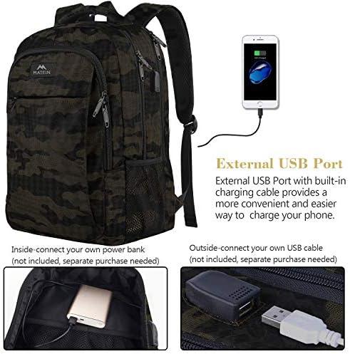 Camo school backpack _image1