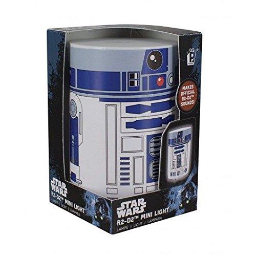 Paladone Lámpara para Mesilla Mini Androide R2-D2, Multicolor
