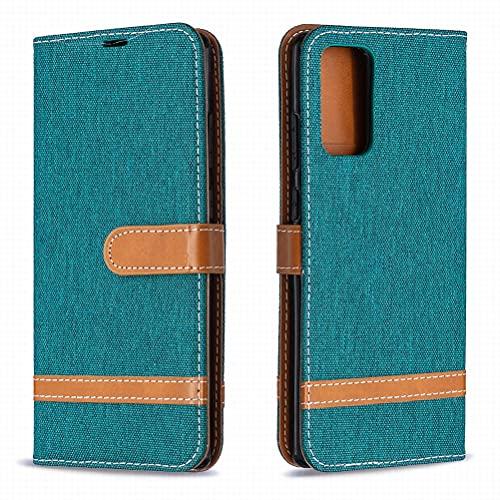 Yiizy Funda para Samsung Galaxy Note 20, Carcasa Galaxy Note 20 Funda de Cuero con Tapa, Fundas para Tarjeteros de Crédito, Cierre Magnético Silicona Protector Estuche Samsung Galaxy Note 20 (Verde)