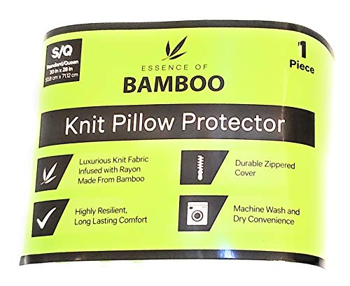 Bamboo Knit Pillow Protector
