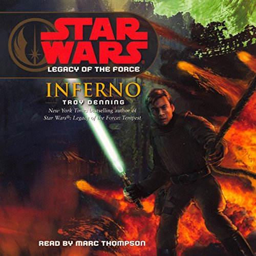 Star Wars: Legacy of the Force #6: Inferno cover art