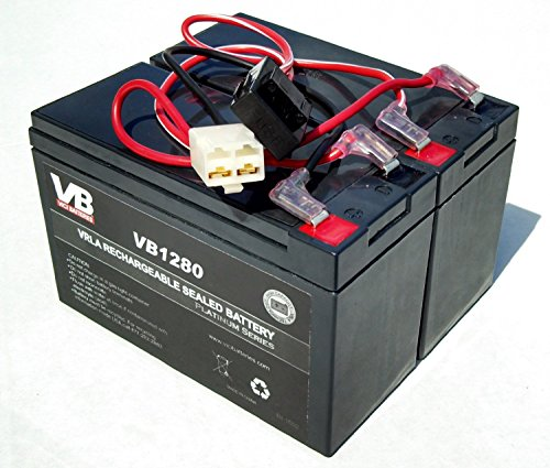 VICI Battery Razor Dirt Quad Battery Replacement - Includes Wiring Harness (8 ah Capacity - 24 Volt System) TM