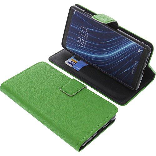 foto-kontor Tasche für Archos Diamond Omega Book Style grün Schutz Hülle Buch